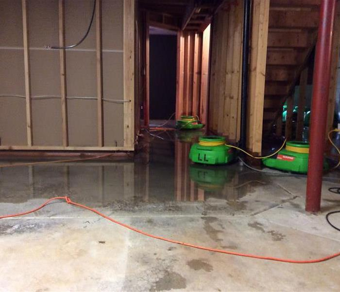Chicago Water Damage in Basement