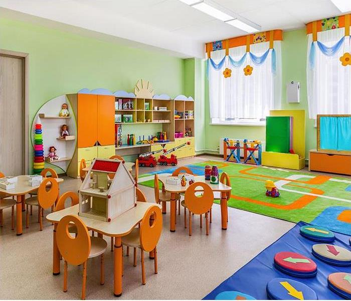 day care play room